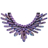 Crystal Motifs Necklace Angel Pink Aurora Borealis